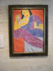 Matisse-does this look like it may have been painted bya child?  I guess that is characteristic of Matisse.  I like it.