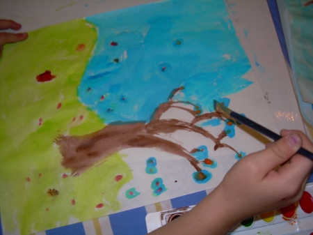 Kids Fall Painting 004
